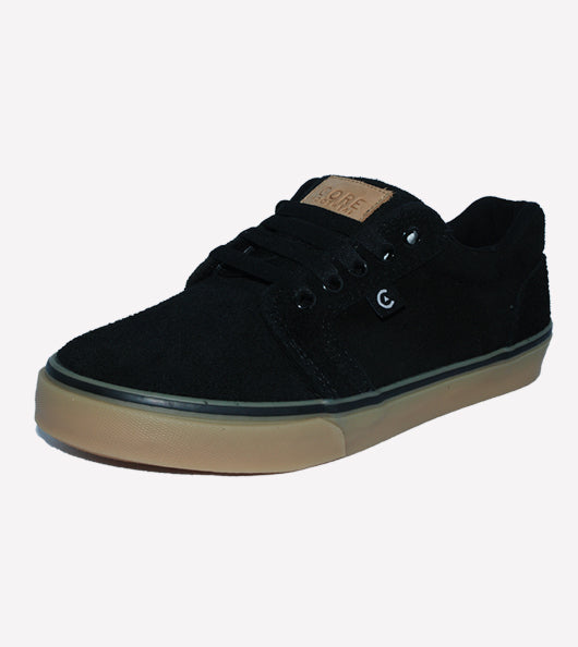 Tenis Core Smith Black Gum
