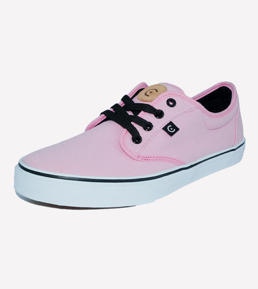 Tenis Core Canvas Pink White