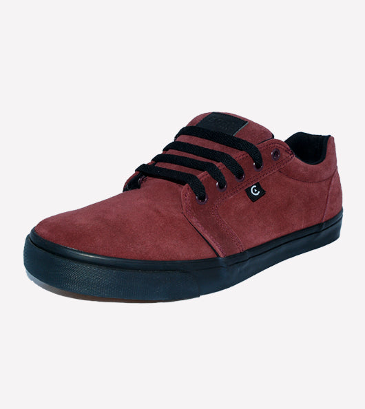 Tenis Core Smith Burgundy Black