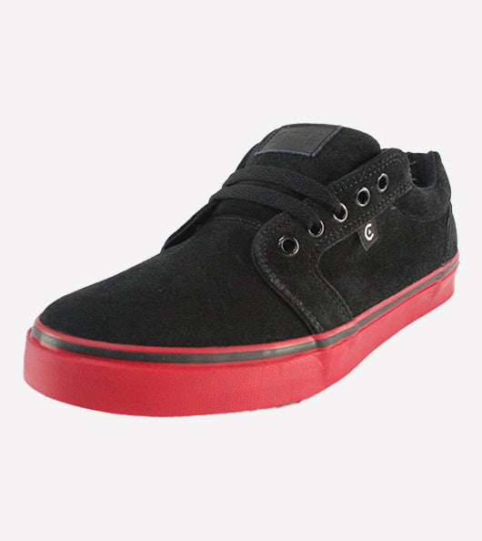 Tenis Core Smith Black Red