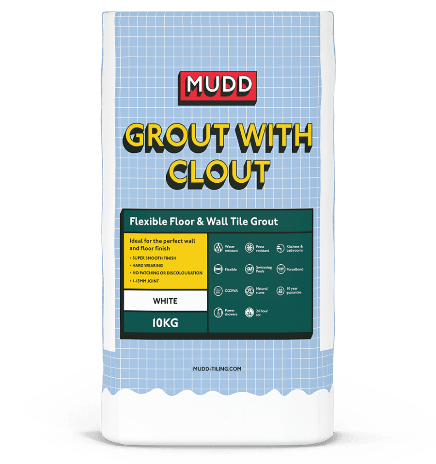 MUDD Grout with Clout Floor & Wall Grout 3.5kg