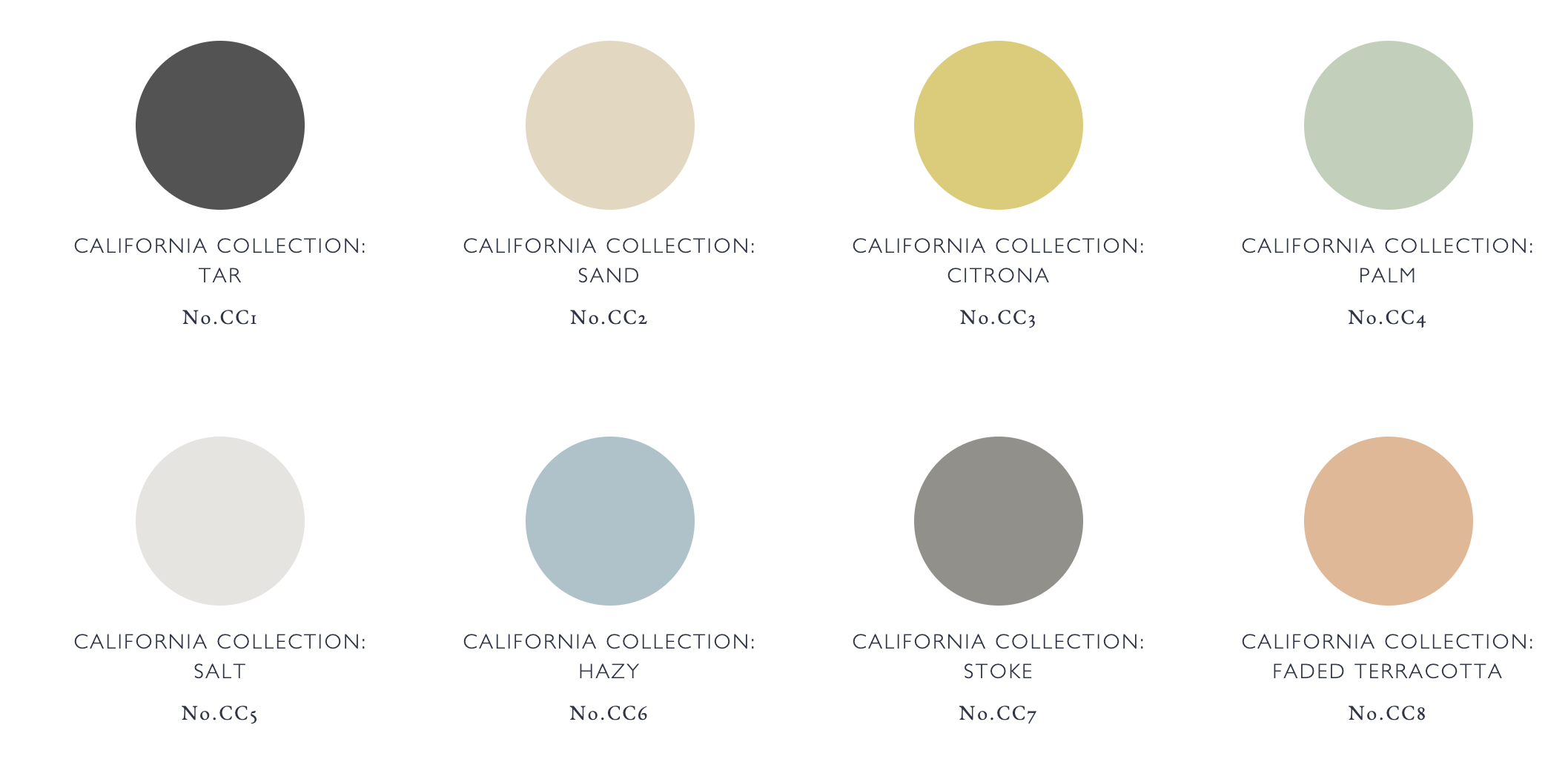 The California Collection By Kelly Wearstler and Farrow & Ball