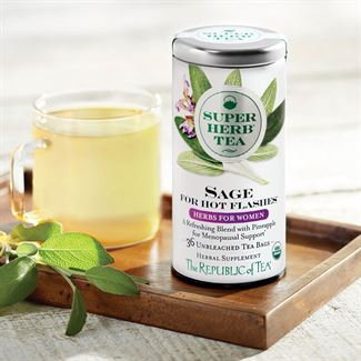 Sage for Hot Flashes-Republic of Tea