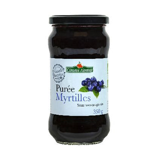 Puree Myrtilles 350G