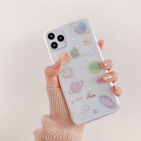 coque iphone 11 planete