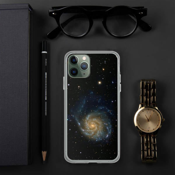 Coque iPhone Galaxie | Le Petit Astronaute