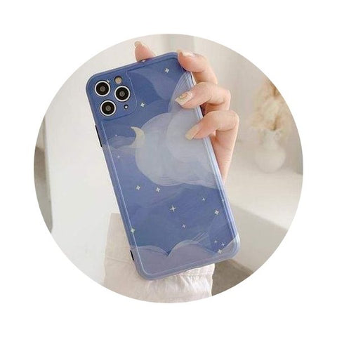 coque-iphone lune cartoon