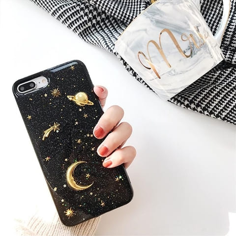 coque iphone planete