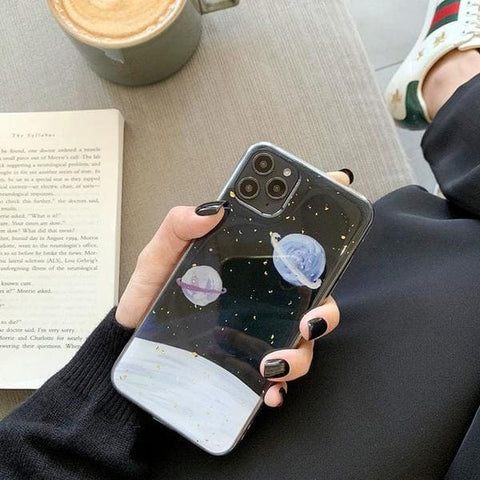 coque iphone planetes inconnues