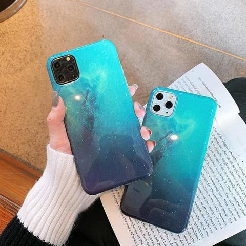 coque iphone nebuleuse