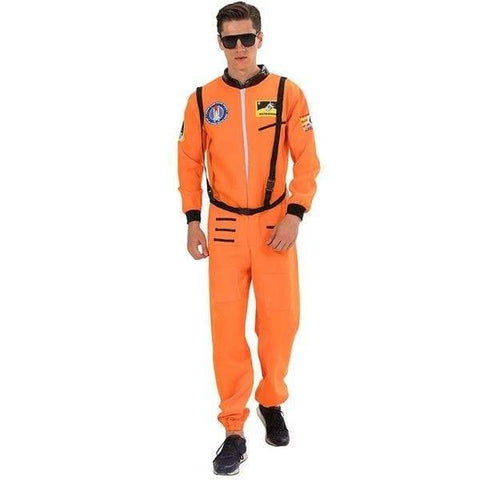 deguisement astronaute orange