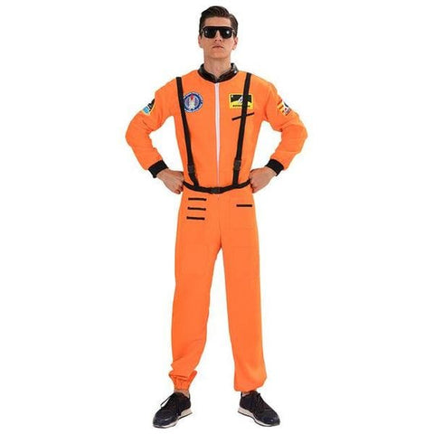 costume astronaute orange