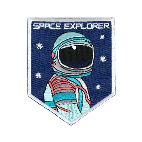 ecusson space explorer