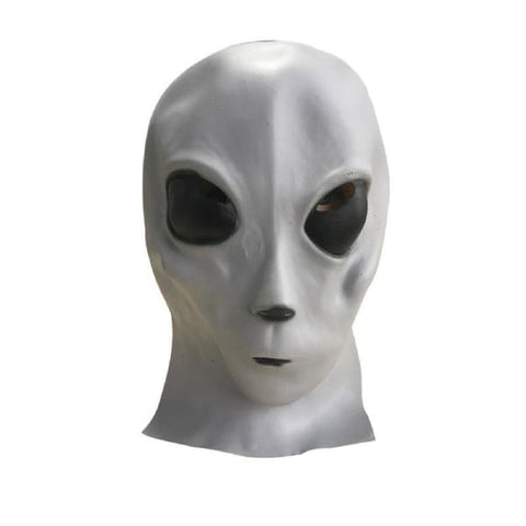 masque-alien gris