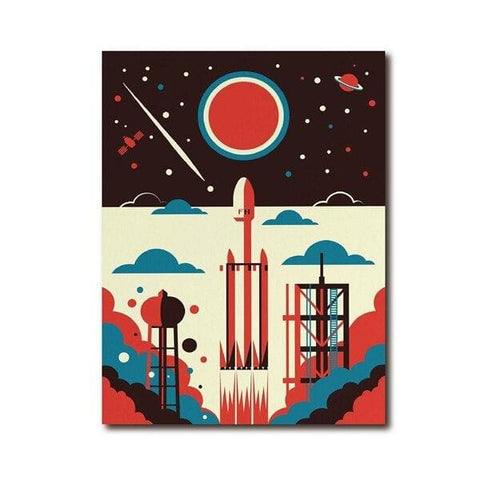 poster falcon heavy