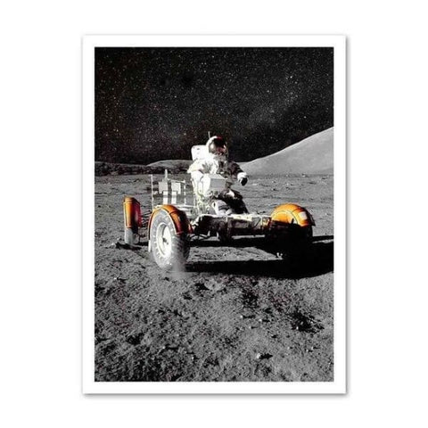 poster rover lunaire
