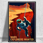 poster explorers wanted