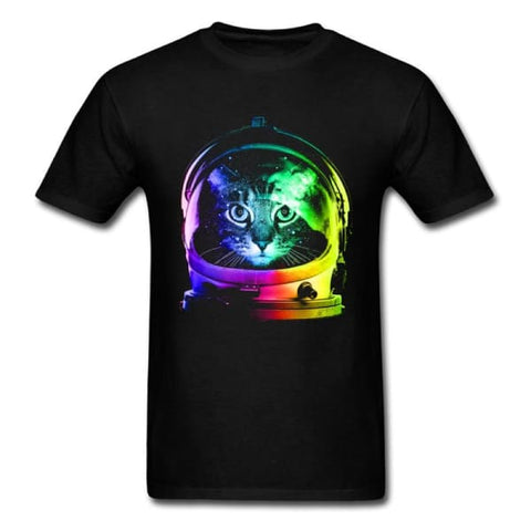 t shirt chat astronaute galactique