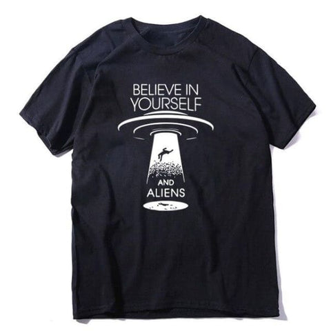 t shirt ovni believe