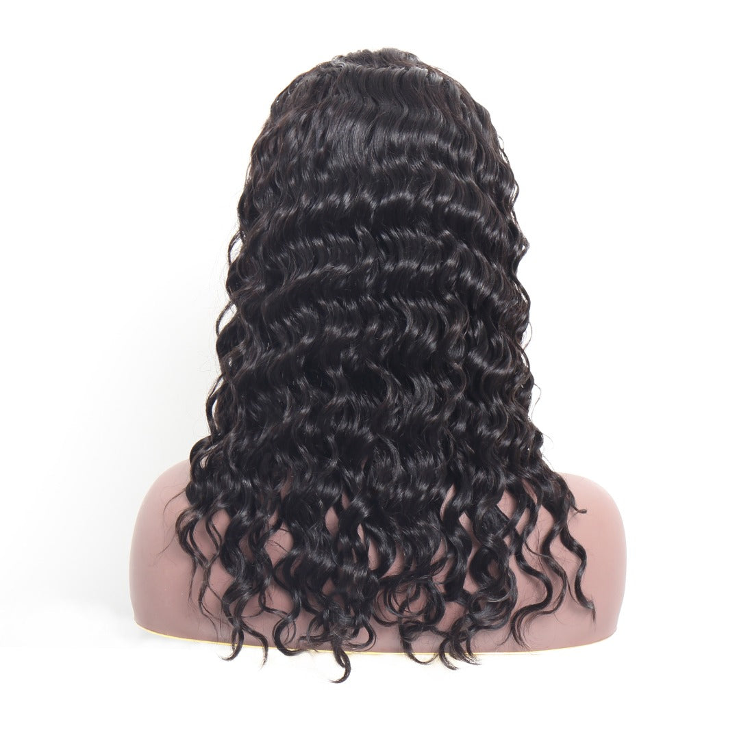 13x4 Loose Wave Transparent Lace Front Wig