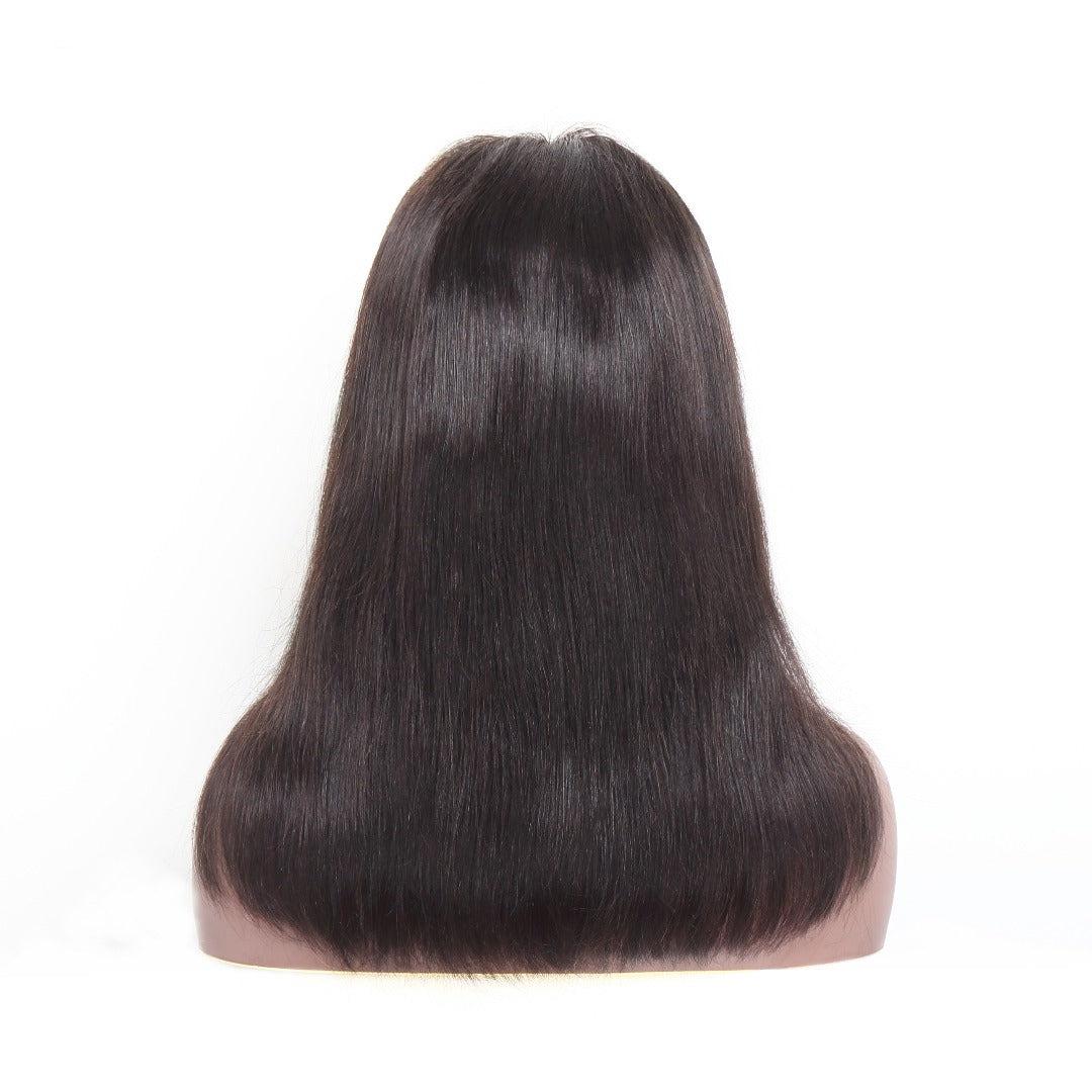 13x4 Transparent Straight Lace Front Wig