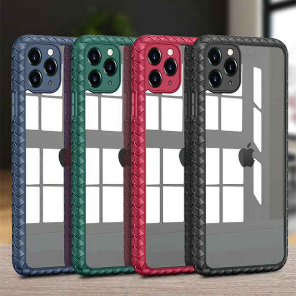 Shockproof Silicone Transparent Case For iPhone 11 Pro Max