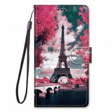 Flip Phone Wallet For Case Motolola Moto E6 Play G8 Plus One Macro Leather