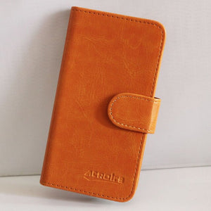 Soft Leather Phone Wallet Case