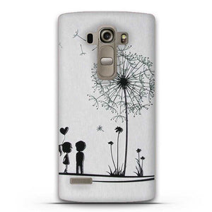 LG G4S Case Cover Silicone  Soft 3D Relief Painting