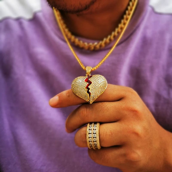 Ice Life Heart Pendant