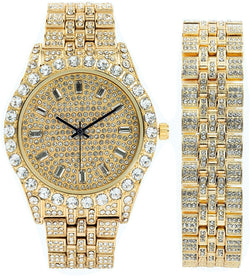 Iced Out Bling Set