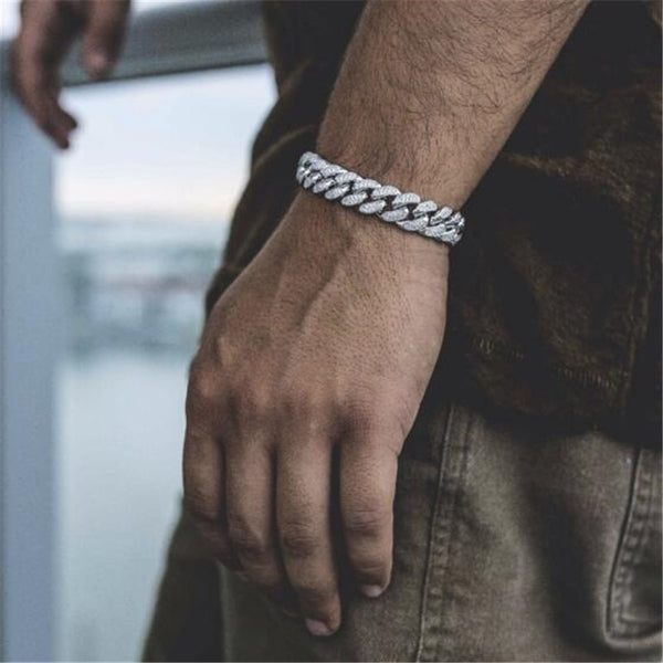 Miami Cuban Men Bracelet