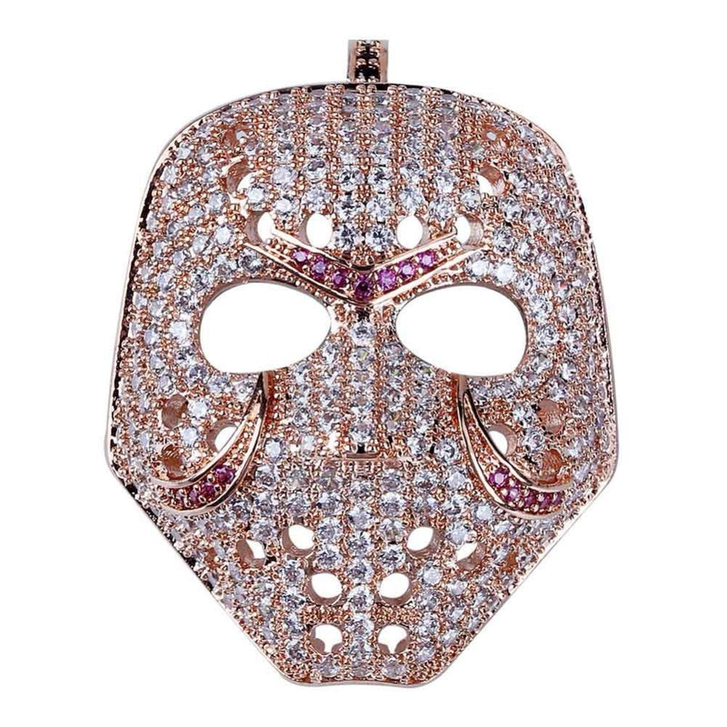 Iced Out Mask Pendant