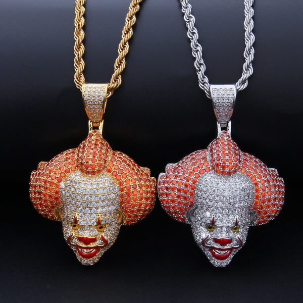 Clown Pendant Chain