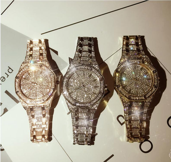Crystal Men Watch