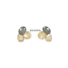 Load image into Gallery viewer, Pavie Stud Swarovski Set