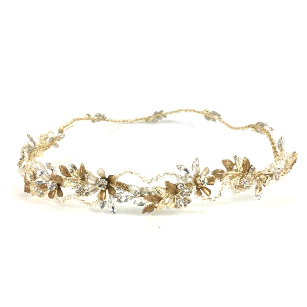 Gold Halo Headpiece
