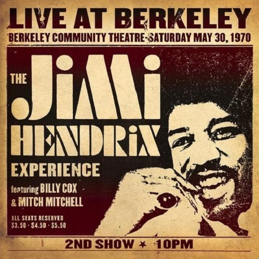 The Jimi Hendrix Experience Live At Berkeley