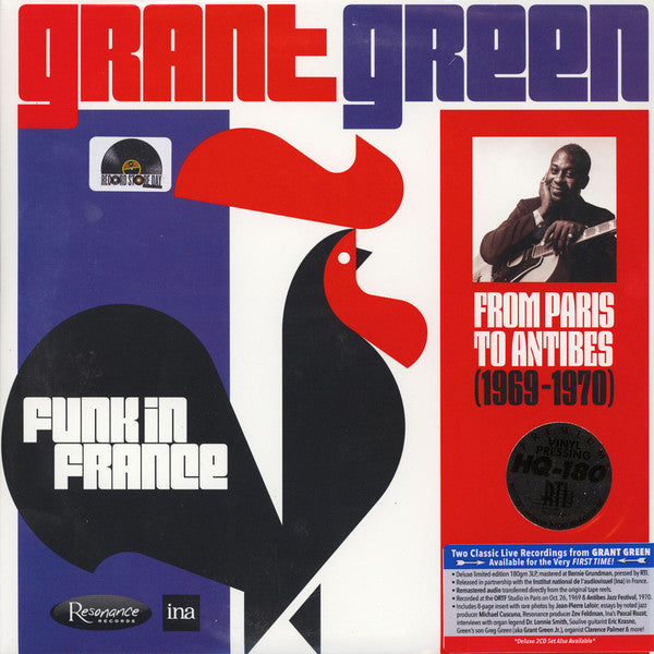 Grant Green Funk in France: From Paris to Antibes (1969-1970)