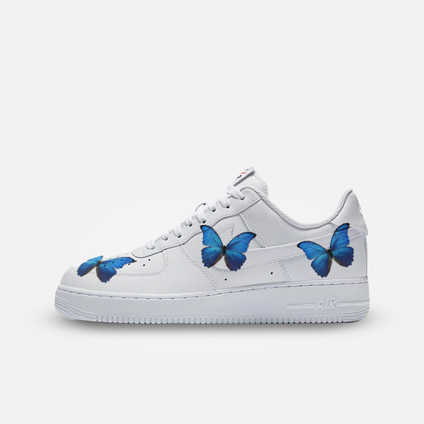 Blue Butterfly AF1 AF1 Kickked 5 Men