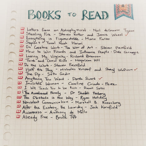 Journaling - books to read