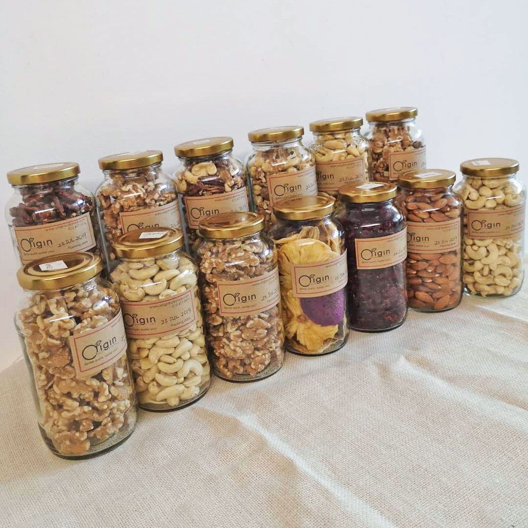 Reused Jars - Origin Bulk Store