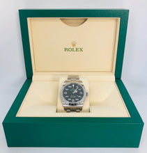 Load image into Gallery viewer, Rolex Air King Black Dial Stainless Steel Men's Watch 116900