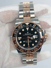 Load image into Gallery viewer, Rolex 2021 Everose GMT Master II Rootbeer NEW 126711 CHNR