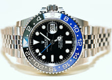 Load image into Gallery viewer, ROLEX GMT-MASTER II OYSTERCASE 40MM WATCH 126710BLNR