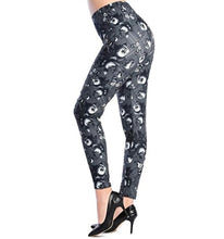 Load image into Gallery viewer, Women's Printed Elastic Leggings (Floral)