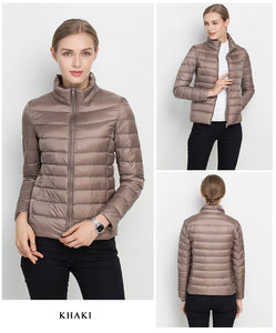 2019 New Ultra Light Windproof Women's Winter Coat