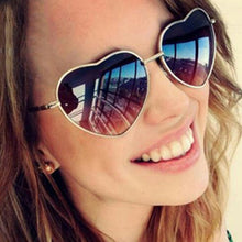 Load image into Gallery viewer, Instagram Filter Style Heart Sunglass