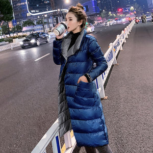 2019 Women's Double Sided Long Jacket