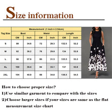 Load image into Gallery viewer, 2019 Women's Floral Printed Bohemian Maxi Dress (Sleeveless)
